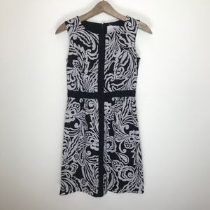 Anthropology tabitha print sheath dress